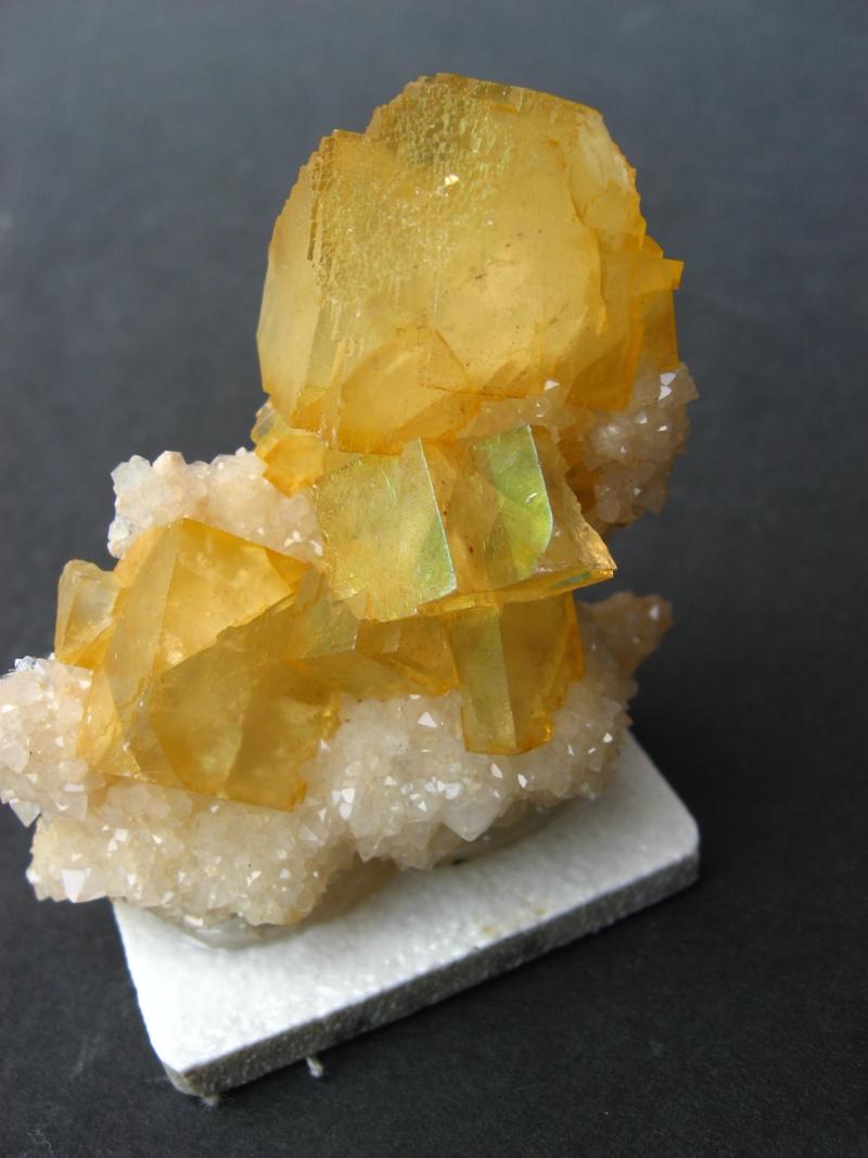 Différentes fluorites de la mine CLARA 01512