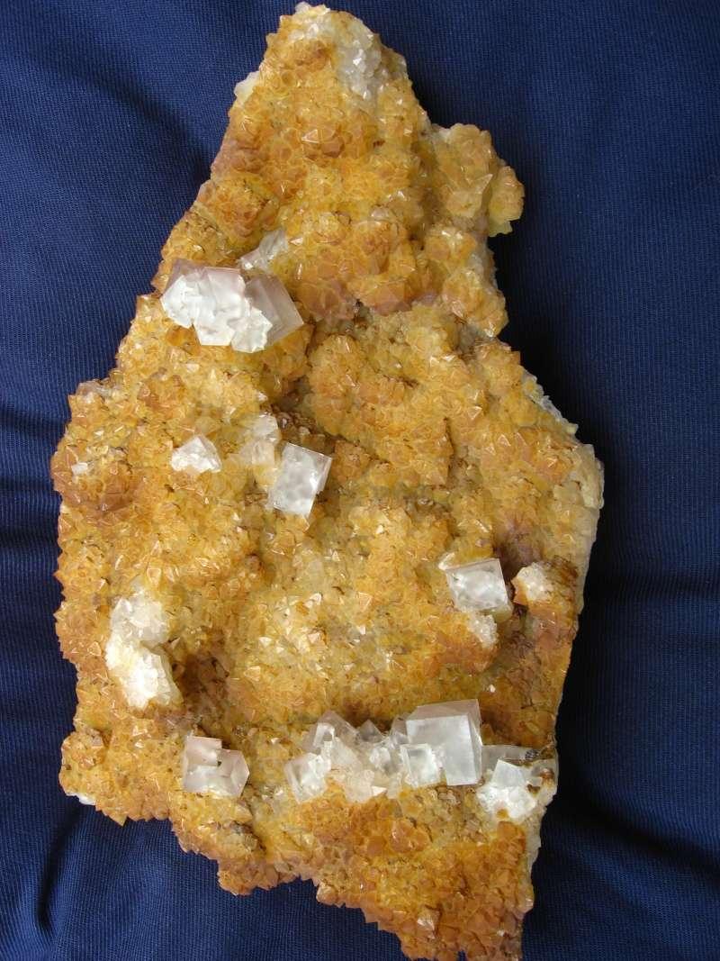 Différentes fluorites de la mine CLARA 01712