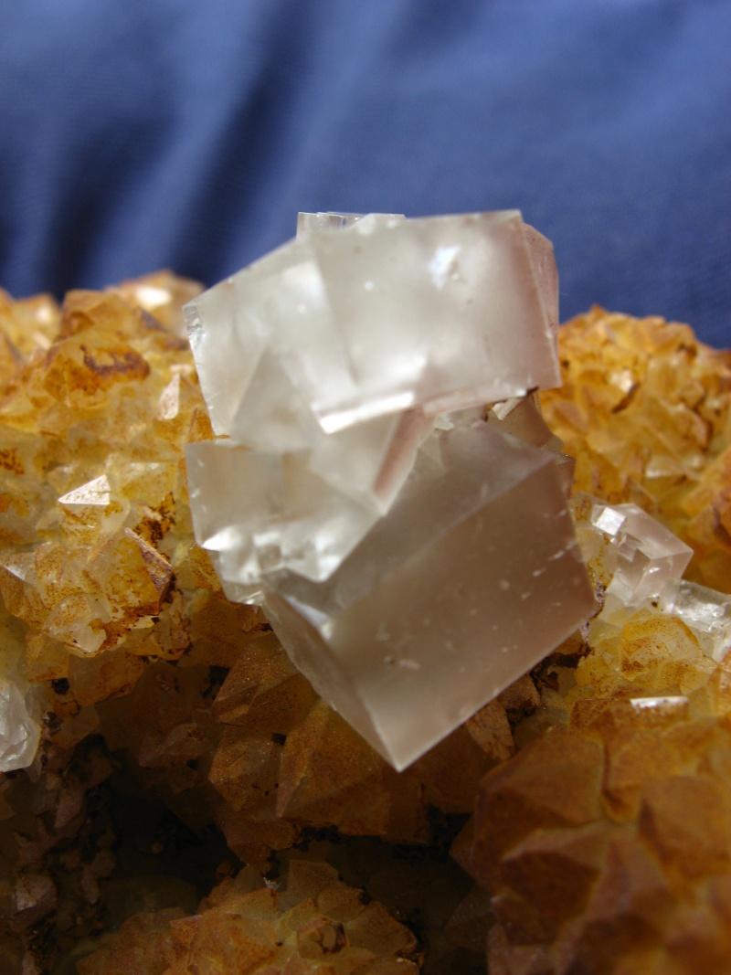 Différentes fluorites de la mine CLARA 02012