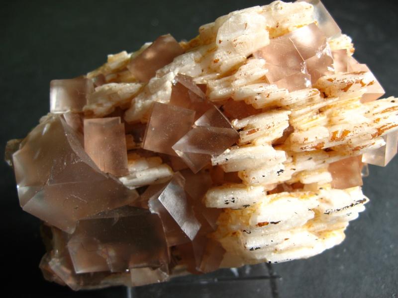 Différentes fluorites de la mine CLARA 02510