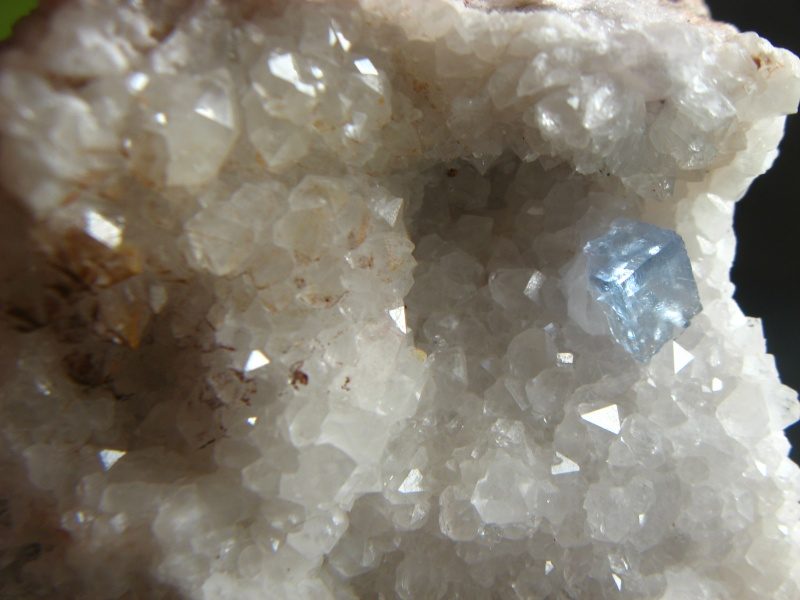 Différentes fluorites de la mine CLARA 02710