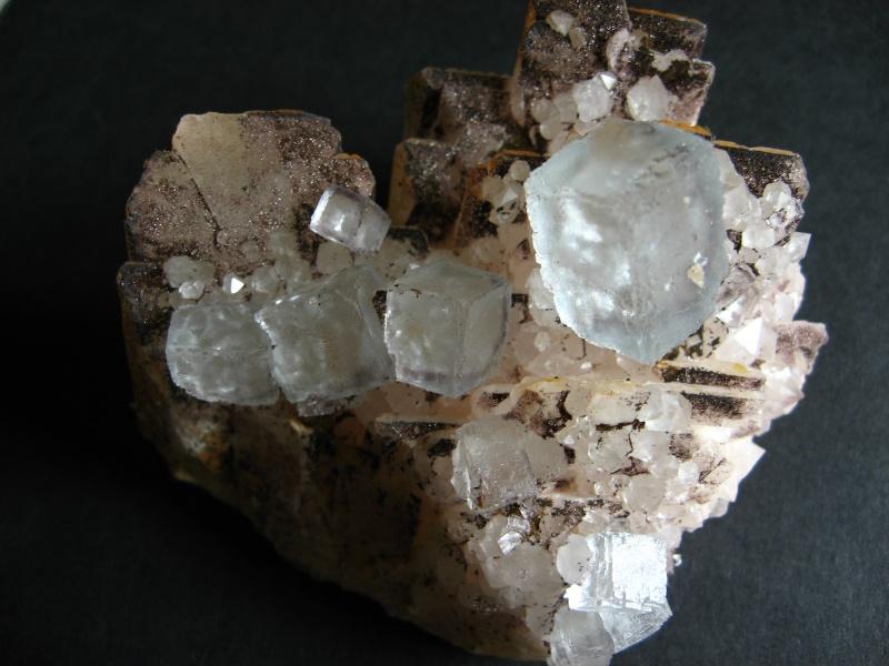 Différentes fluorites de la mine CLARA 02811