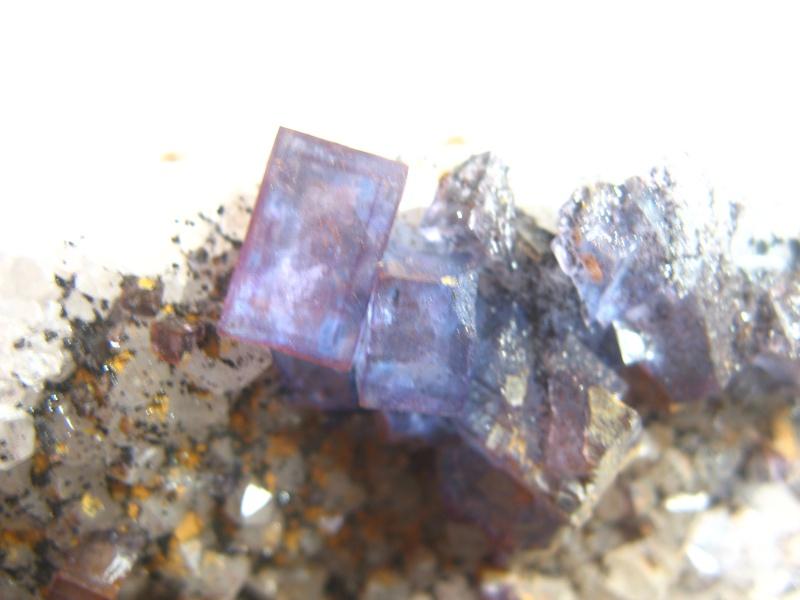 Différentes fluorites de la mine CLARA 05510