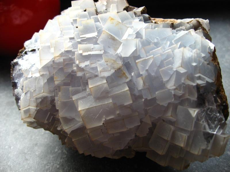 Différentes fluorites de la mine CLARA 06611