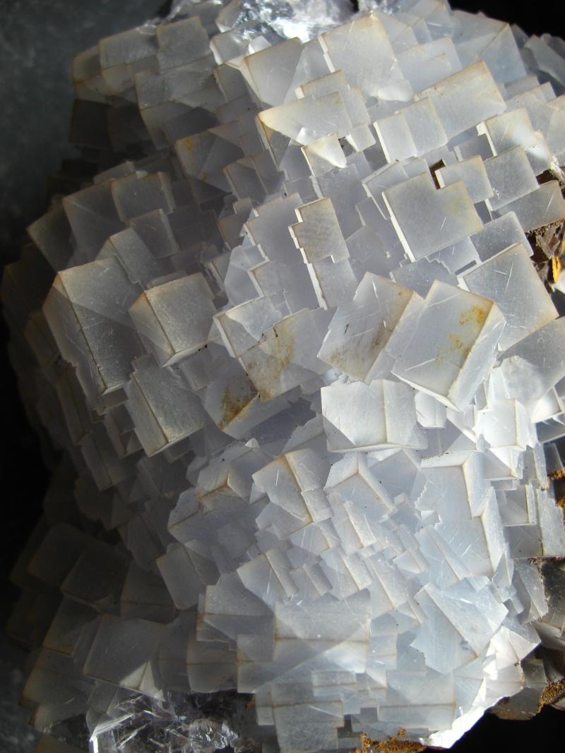 Différentes fluorites de la mine CLARA 06710