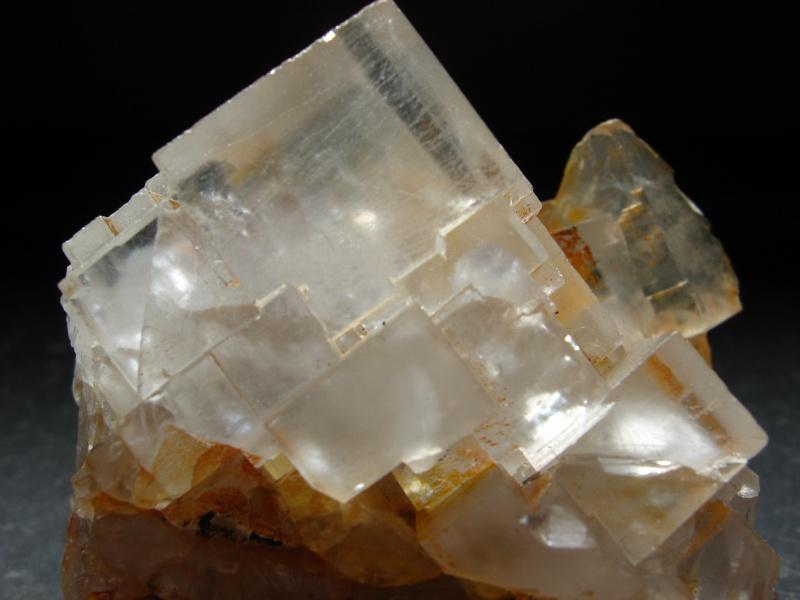 Différentes fluorites de la mine CLARA 06810