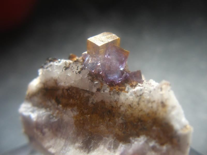 Différentes fluorites de la mine CLARA 07610