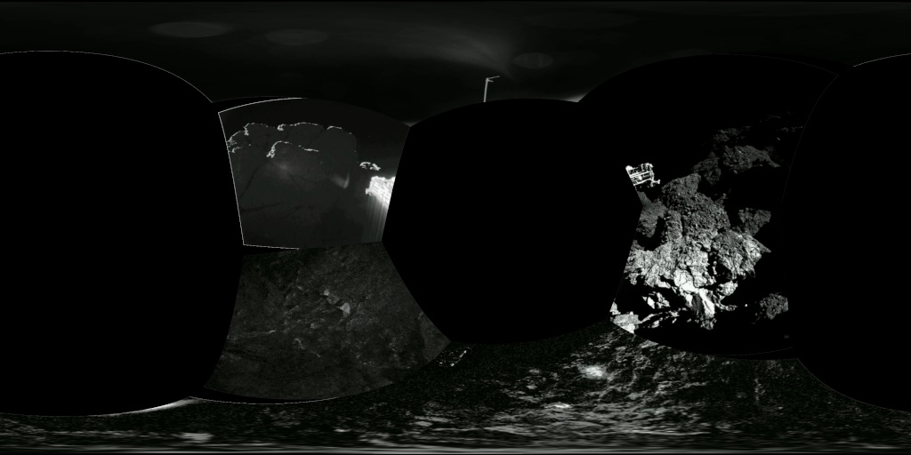 Philae: atterrissage et mission (partie 2) Civa10