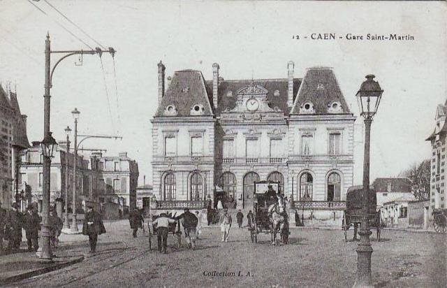 Le chemin de fer Caen-La mer Caen-s10