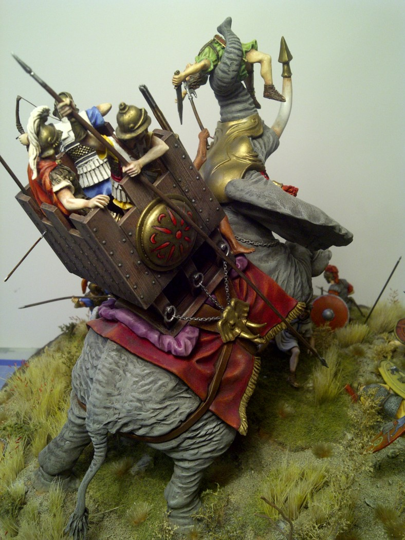 éléphant de guerre carthaginois Saint-11