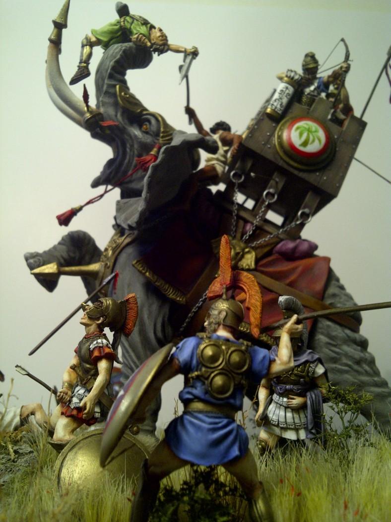 éléphant de guerre carthaginois Saint-13