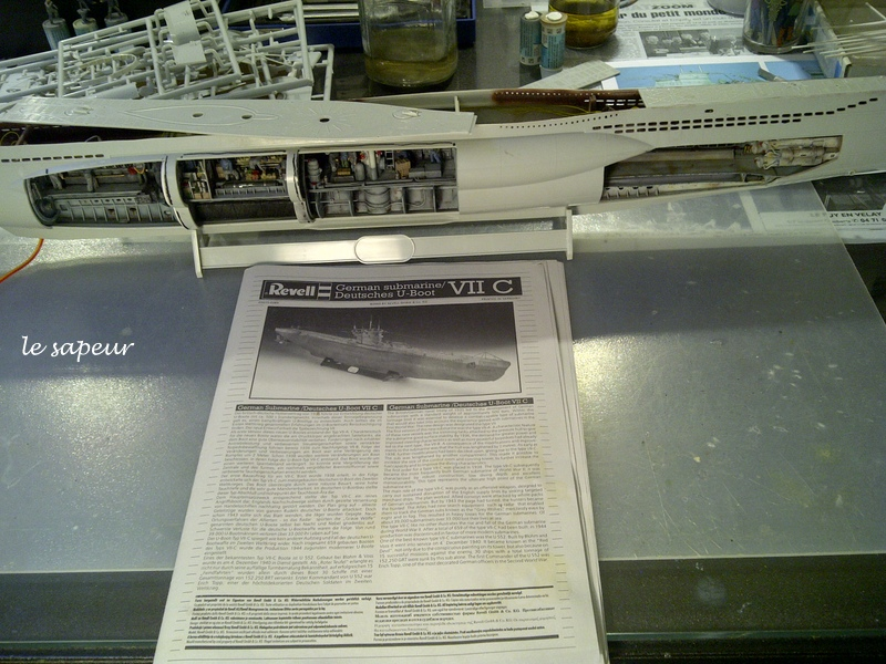 U-BOOT type VII C  revell 1/72 - Page 2 Saint-21