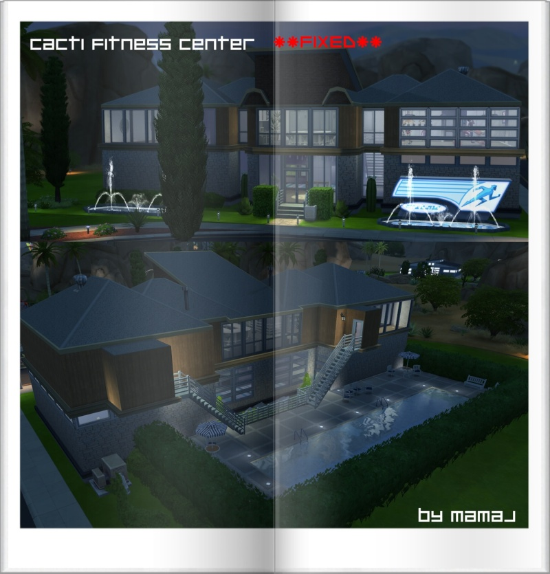Cacti Fitness Center **Fixed** by mamaj Cacti_10