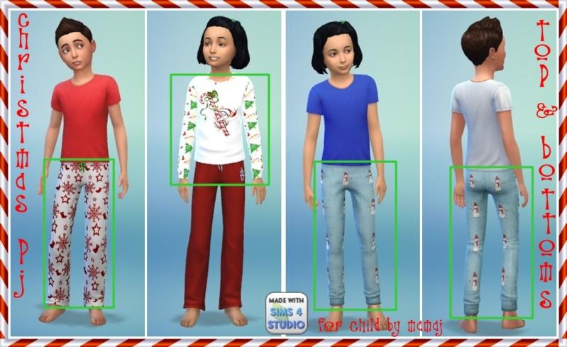 Universal Christmas pj's for child by mamaj Christ17