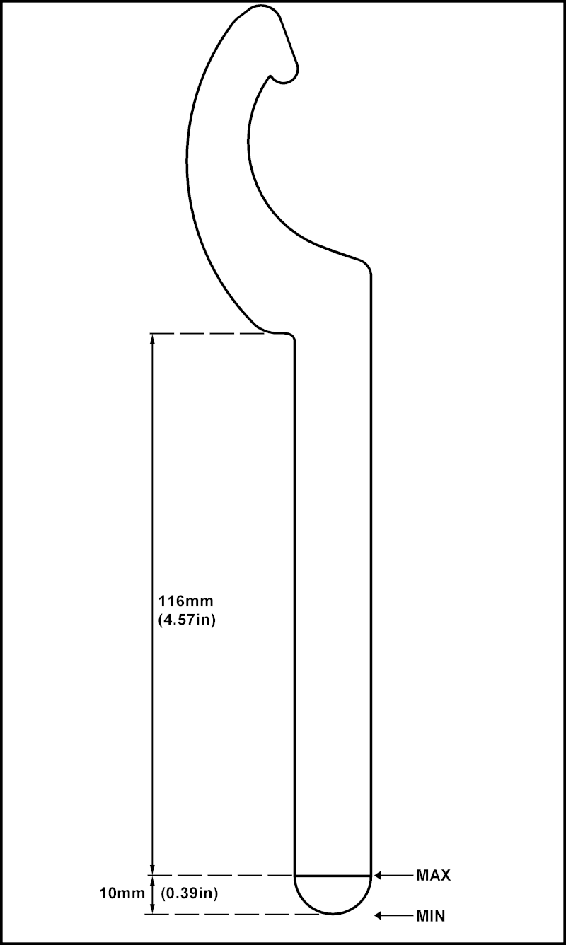 Dip stick length C_span10