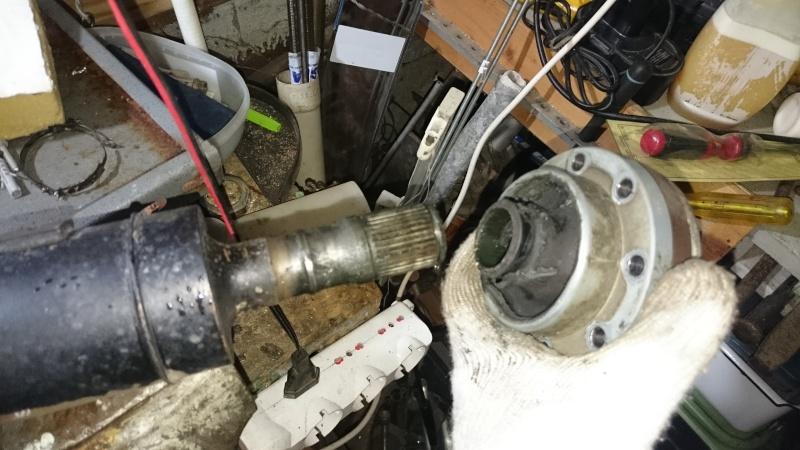 riparazione albero trasmissione originale jk Dsc_0113