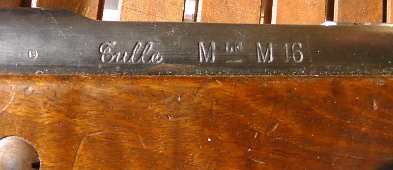 Tir avec mousqueton Berthier 1892 M16 Marque10