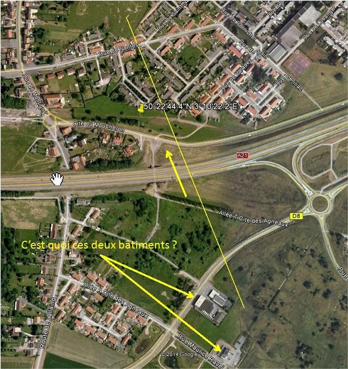 2014: le 08/11 à 22h32 - Boules lumineuses -  Ovnis à lallaing - Nord (dép.59) Lallai10