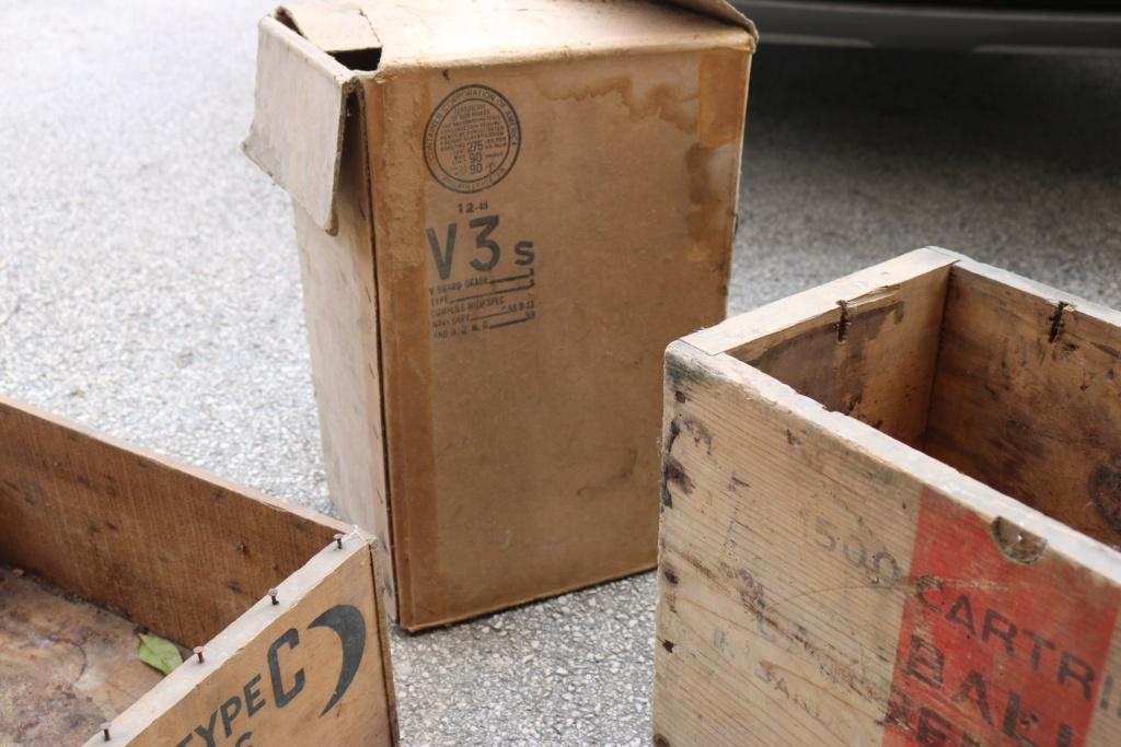 Grosse rentrée francais, US et allemand ww2 (caisse, ration, équipements,...) Img_4635