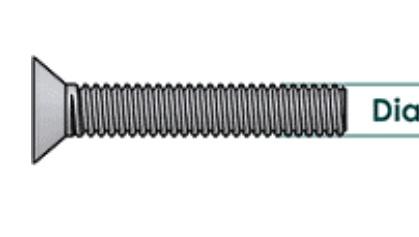 my super rare countersunk backplate screw pee wee 1957! Screw_10