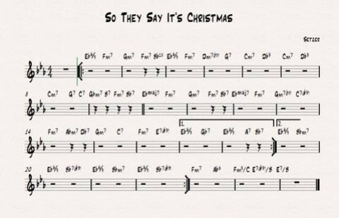 So This Is Christmas Chords.So They Say It S Christmas Chords