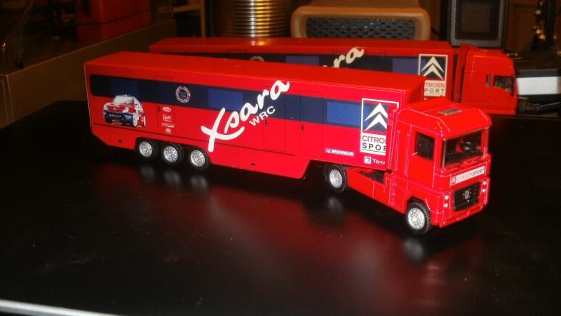 "Camion Renault ""Xsara WRC"" Pb211310"
