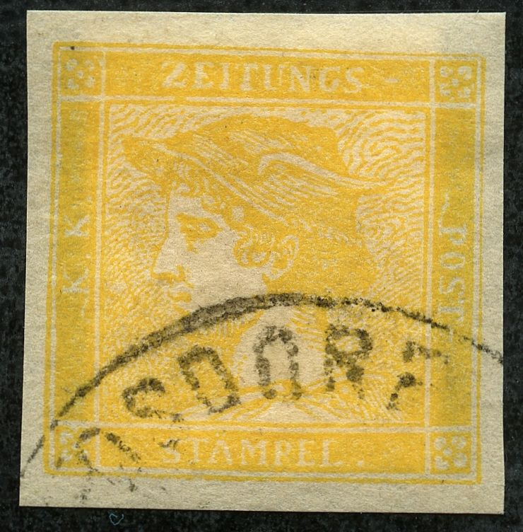 DIE ZEITUNGSMARKEN DES JAHRES 1851 Img53810