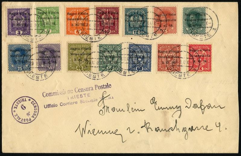 Österreich/Italien, 1918, Trieste Yberdr11