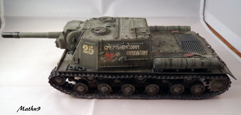 JSU 152 [Cyber Hobby 1/35] w/ Tank Riders Soviet [Dragon 1/35] - Terminé- - Page 2 Dsc02527