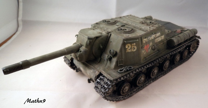 JSU 152 [Cyber Hobby 1/35] w/ Tank Riders Soviet [Dragon 1/35] - Terminé- - Page 2 Dsc02529