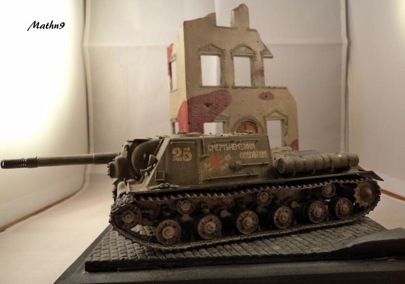 JSU 152 [Cyber Hobby 1/35] w/ Tank Riders Soviet [Dragon 1/35] - Terminé- - Page 2 Dsc02531