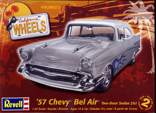 1957 Chevrolet Bel Air décapotable par Revell 4251bt10