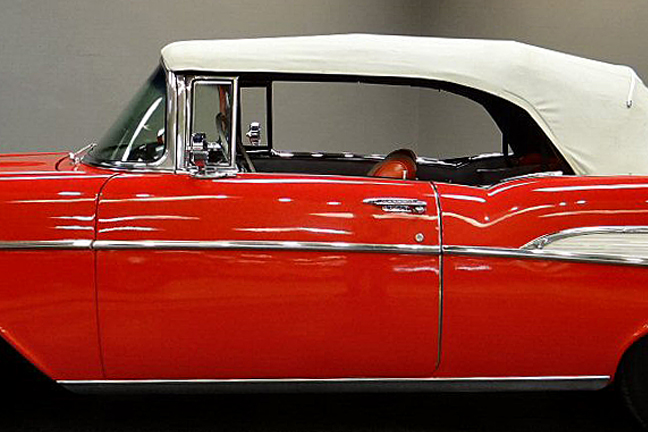 1957 Chevrolet Bel Air décapotable par Revell Chevy-10