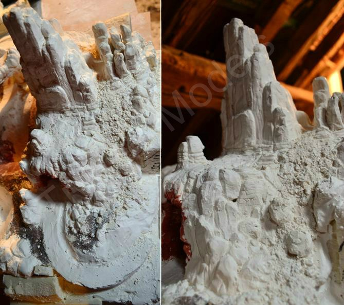 [Maquette] - BIG THUNDER MOUNTAIN - p.8 / Phantom Manor p.1 /Le Chateau D'Oreilles p.7/ - Page 5 Sans_t10