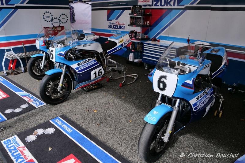 [Road racing] Classic TT/ Manx GP 2019  - Page 15 Suzuki12