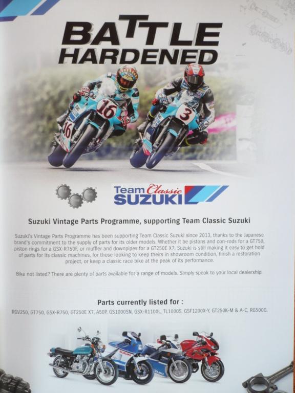 [Road racing] Classic TT/ Manx GP 2019  - Page 15 Suzuki13