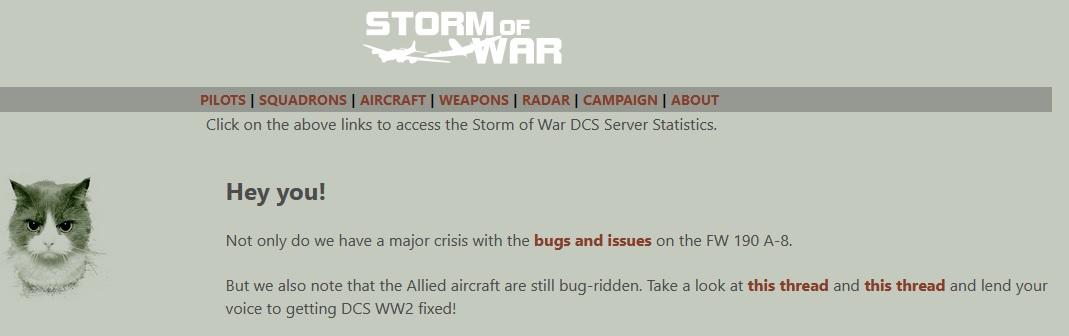 Storm Of War vs DCS  144
