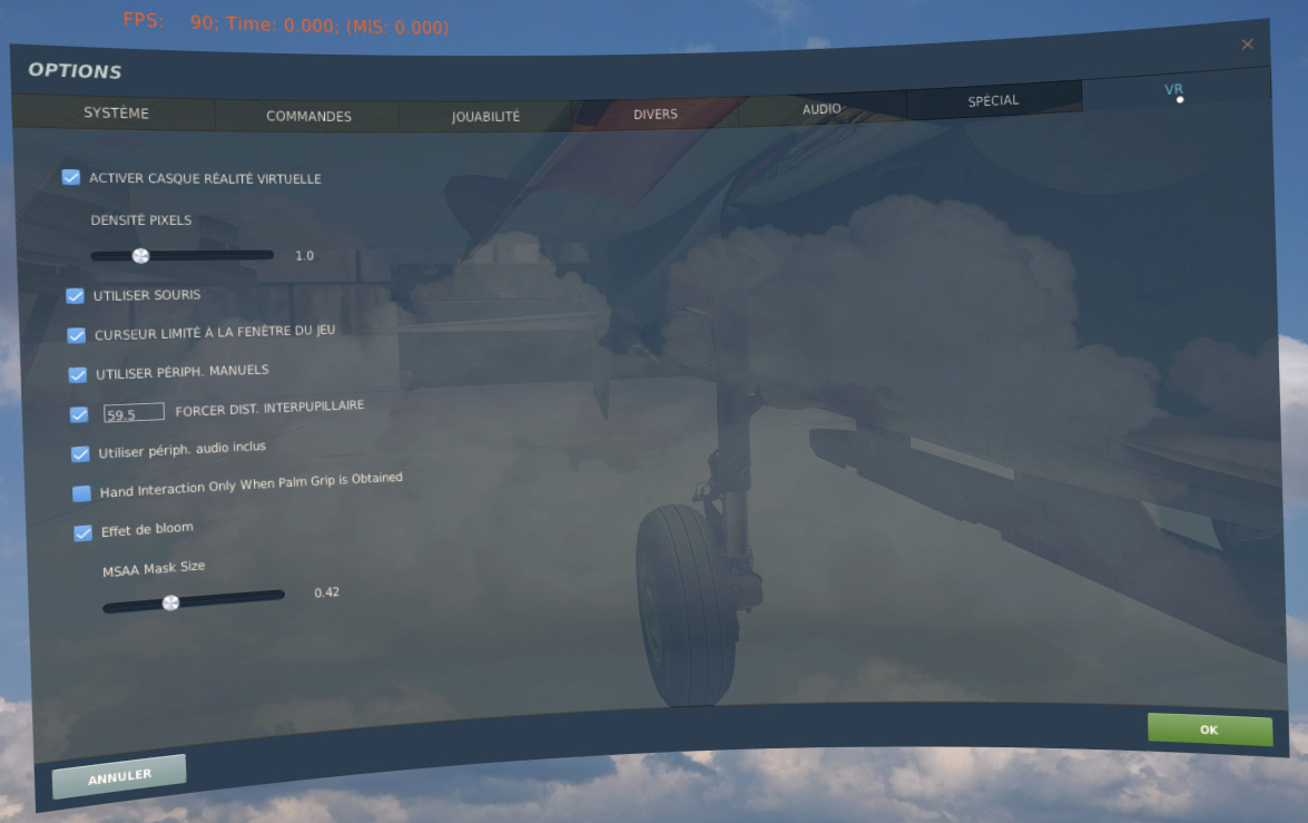 DCS optimisation VR Regl210