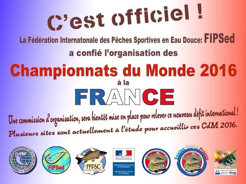 Championnat du monde CARPE 2016 en france !! 90151610
