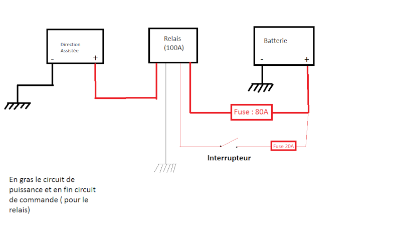 montage direction electrique   Shema_10