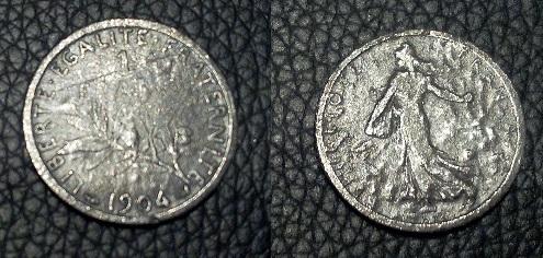 Monnaie 1 franc 1904 1_fran10