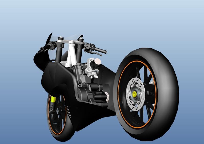 LC4 640 Racer... en 3D !!  Cadre-95