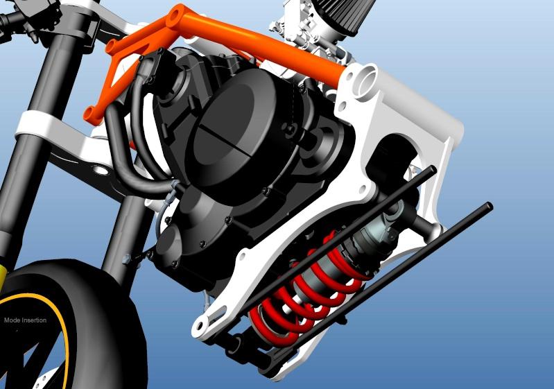 LC4 640 Racer... en 3D !!  - Page 5 Cadre105