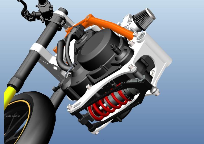 LC4 640 Racer... en 3D !!  - Page 5 Cadre107