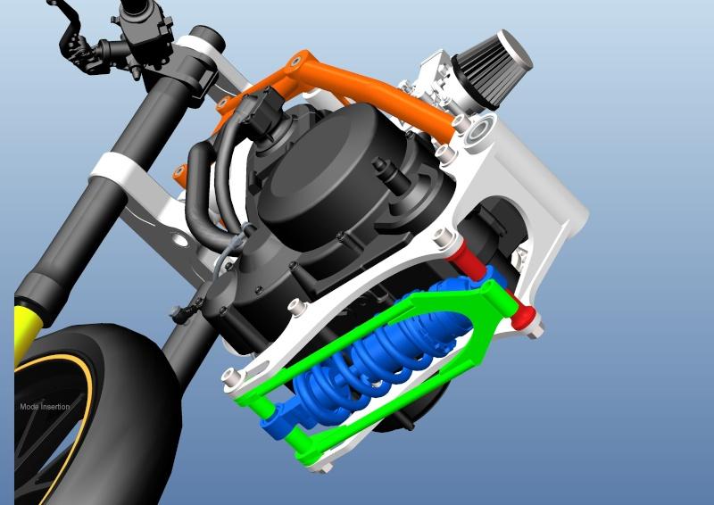 LC4 640 Racer... en 3D !!  - Page 5 Cadre108