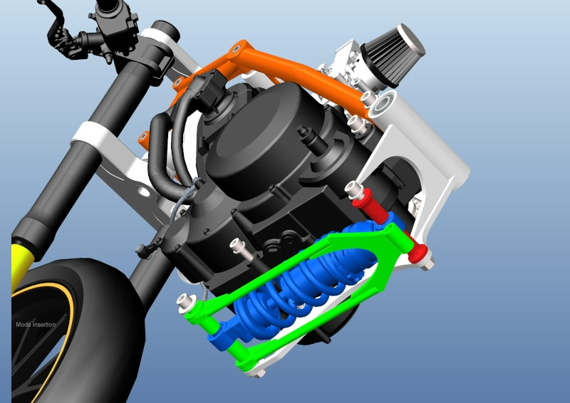 LC4 640 Racer... en 3D !!  - Page 5 Cadre109