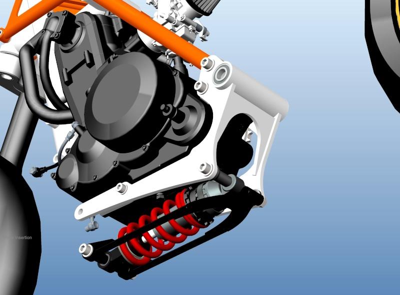 LC4 640 Racer... en 3D !!  - Page 6 Cadre112