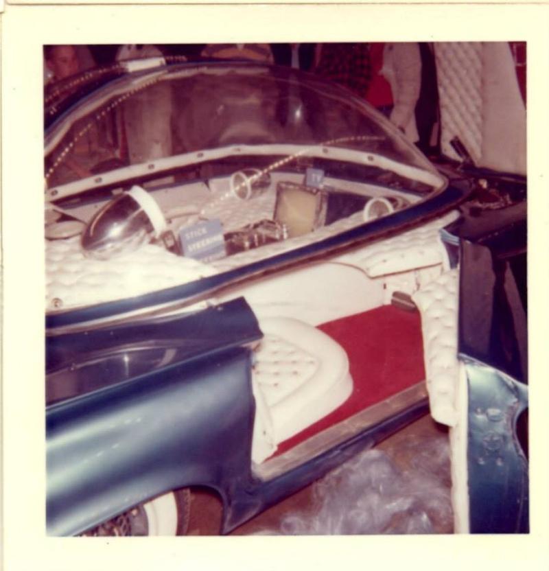 Predicta - Darrill Starbird - 1956 tbird radical bubble top custom 10386810