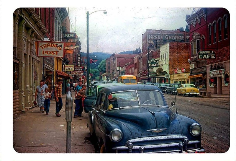 Rues fifties et sixties avec autos - 1950's & 1960's streets with cars - Page 2 10417512