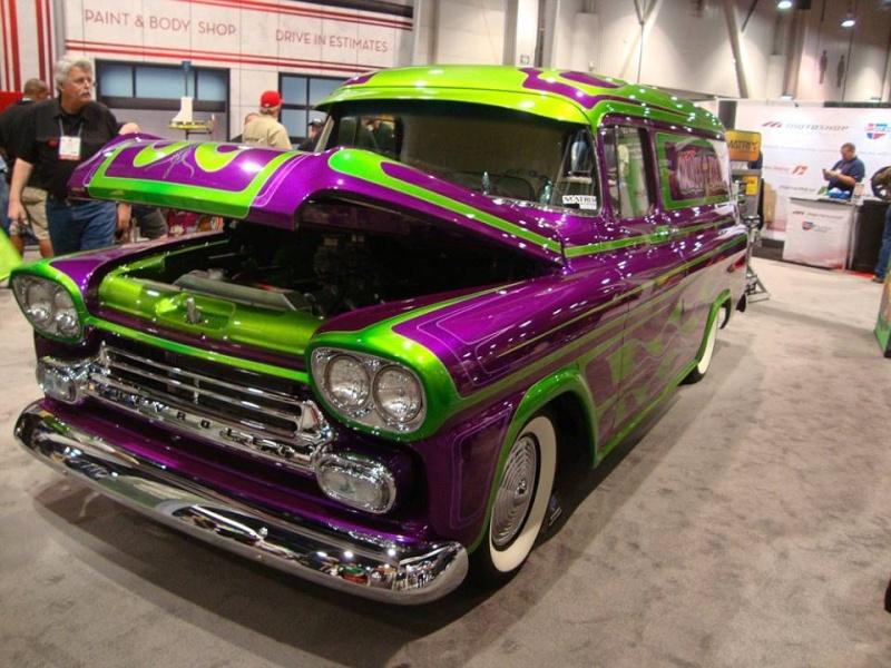 Chevy pick up  1955 - 1959 custom & mild custom 10441010